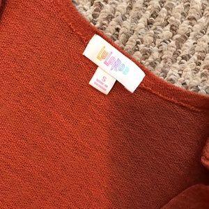 LuLaRoe Sweaters - Burnt orange Duster Cardigan
